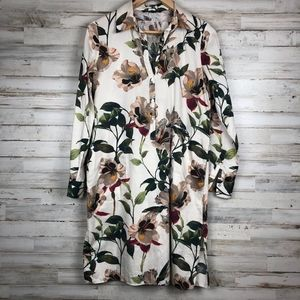 Zara Woman floral print dress
